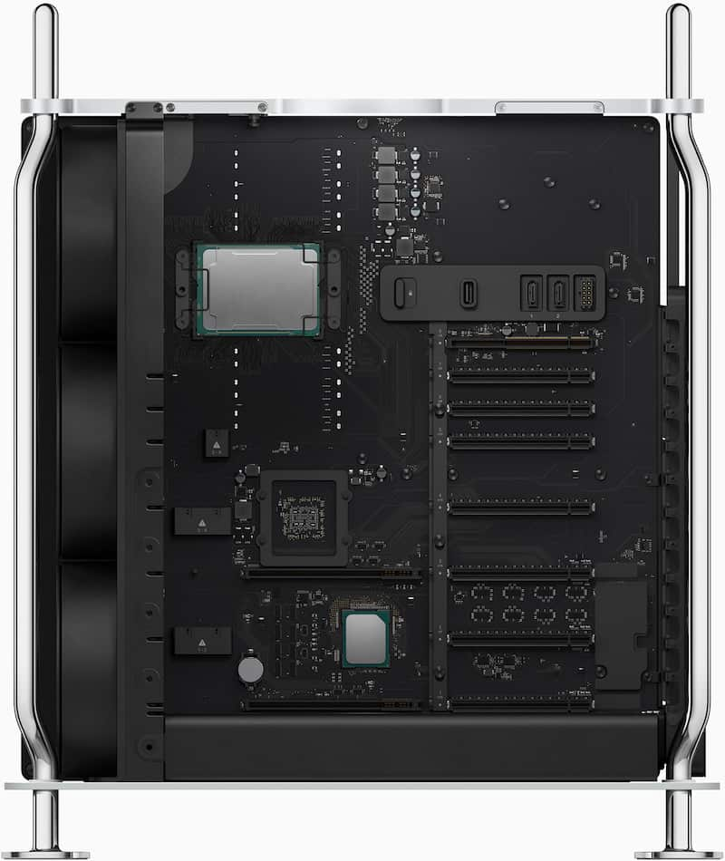 New Mac Pro is a highly customizable box.