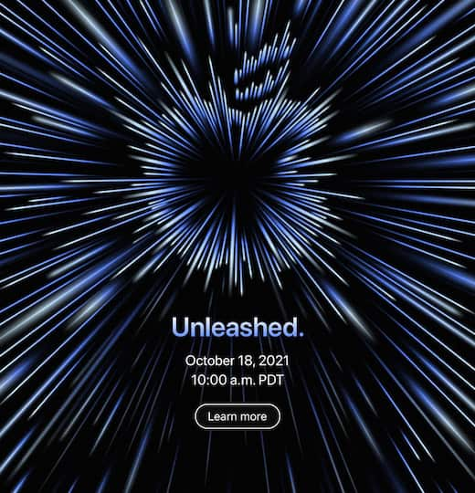 Apple Special Event, October 18: Unleashed